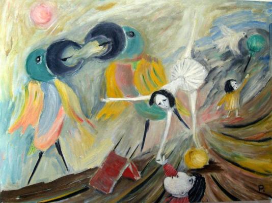 Svyatoslav Ryabkin. Kissing parrots Kissing Parrots