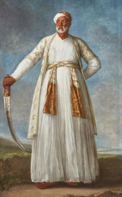 Elizabeth Vigee Le Brun. Portrait of Muhammad Dervish Khan