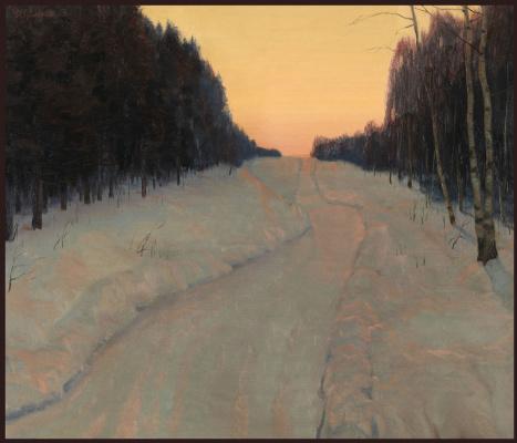 Sushienok64 @ mail.ru Mikhailovich Sushenok Igor. Winter sunset