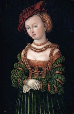 Lucas Cranach the Elder. Portrait of a woman