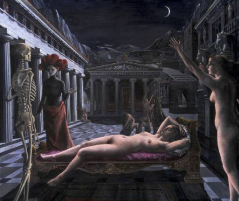 Paul Delvo. Sleeping Venus