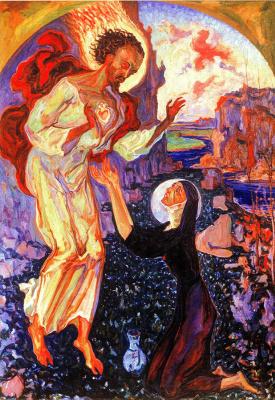 Алексей (Олекса) Новаковский. Heart of jesus