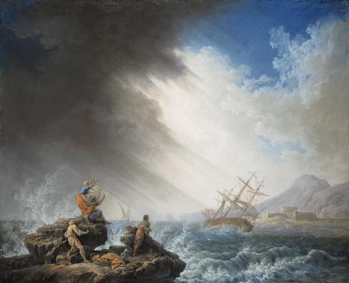 Пьер-Жак Волер. Кораблекрушение