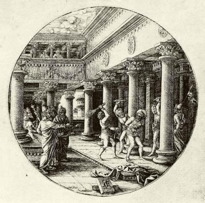 Жан де Гурмон. Бичевание Христа