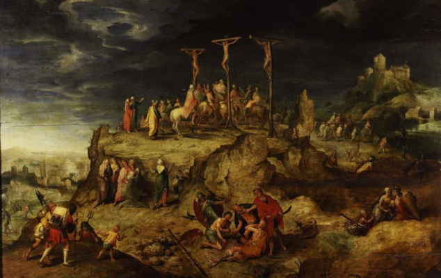 Masterpieces of unknown artists. Calvary