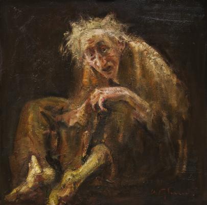 Igor Ivanovich Gubsky. The old woman