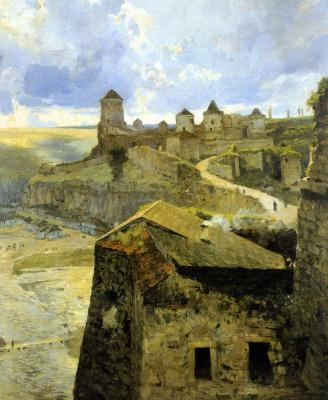 Sergey Ivanovich Svetoslavsky. Fortress in Kamenetz-Podolsk. Late XIX - early XX century.