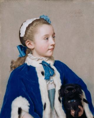 Портрет Марии Фредерики ван Реде-Атлон в семь лет