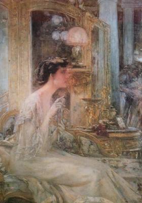 Georges Devalier. Portrait of Madame P. B.