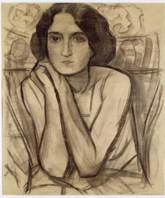 Пит Мондриан. Портрет женщины