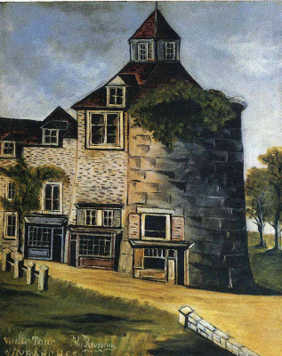 Henri Rousseau. Old tower