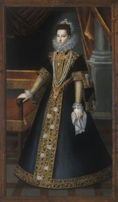 Sofonisba Angisola. Portrait of Donna Juana of Austria