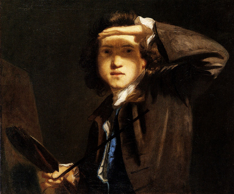 Joshua Reynolds. Self-portrait
