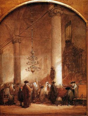 Йоханнес Босбум. Португальская синагога в Амстердаме2