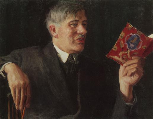 Igor Grabar. Portrait Of K. I. Chukovsky