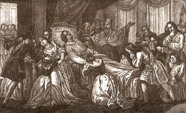 Boris Artemyevich Chorikov (Chorokov). Death Of Peter The Great