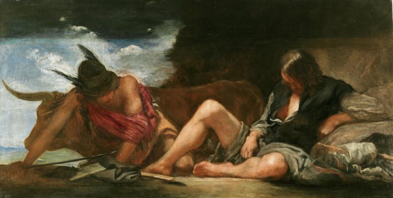 Diego Velazquez. Mercury and Argus
