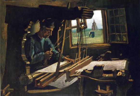 Винсент Ван Гог. Ткач возле открытого окна