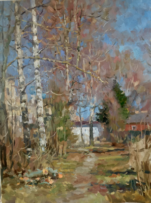 Aleksandr Chagadaev. Autumn Alley