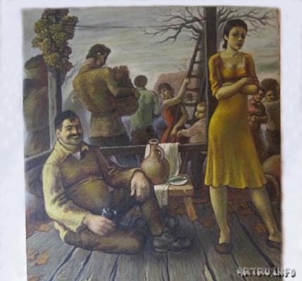 Илья Вахтангович Читадзе. Осень в Грузии
