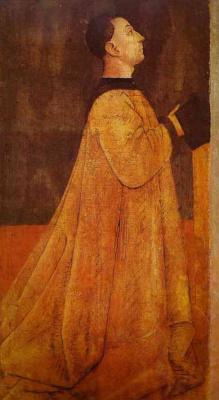Gentile Bellini. Prayer