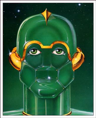 Диккран Палулиан. Зеленая голова