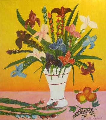 Vasily Vasilyevich Grigoryev. Irises