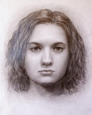 Konstantin Ekonomov. Regina's portrait