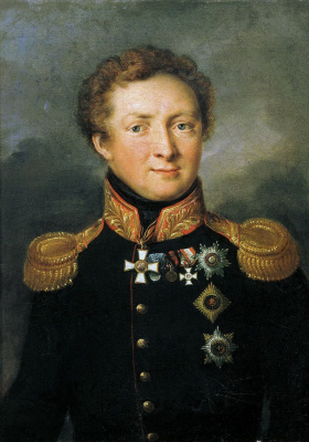 Vasily Andreevich Tropinin. Portrait of General A. I. Gorchakov