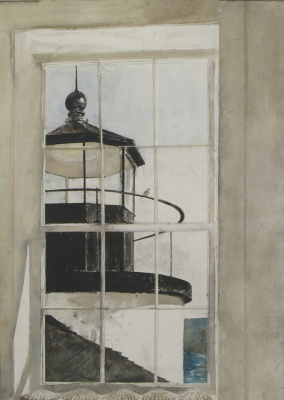Andrew Wyeth. The light in the window