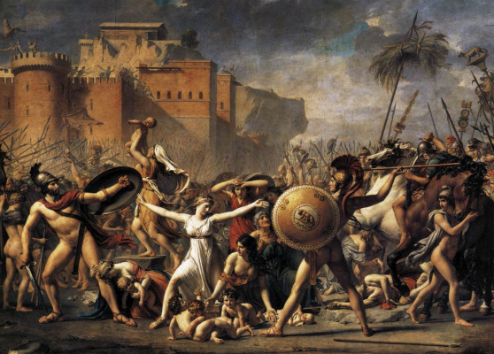 Jacques-Louis David. Sabine women