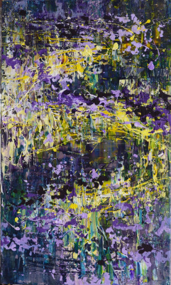 "Таня Василенко. ""Мистика"", акрил, холст. Mystic. Acrylic on Canvas. 2016"