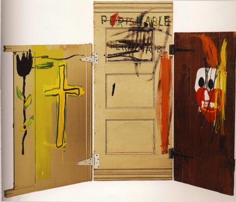 Jean-Michel Basquiat. Tombstones