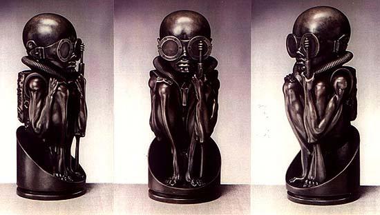 Hans Rudolph Giger. Figures