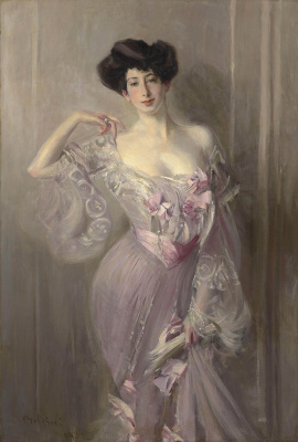 Giovanni Boldini. Portrait of Ena Wertheimer