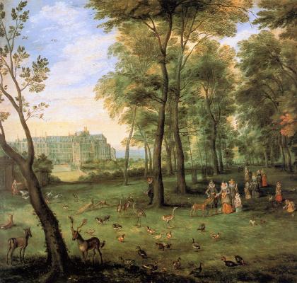 Jan Bruegel The Elder. Walking