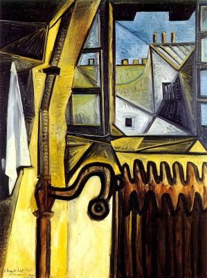 Пабло Пикассо. Мастерская художника на улице Гранд Августин