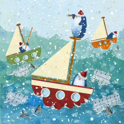 Jen Pashley. The ship of the penguins