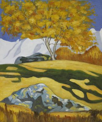 Giovanni Giacometti. Autumn