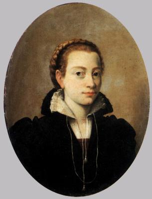 Sofonisba Anguissola. Self-portrait