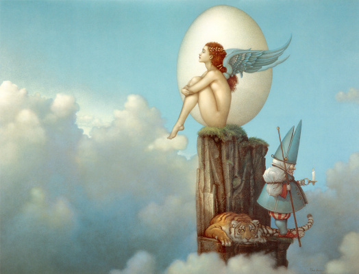 Michael Parkes. The magic of spring