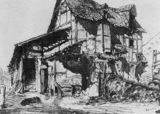 James Abbot McNeill Whistler. Dangerous abode