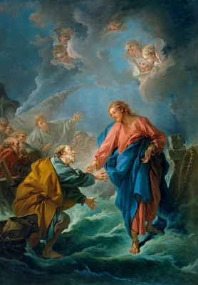 Francois Boucher. St. Peter, trying to go about it