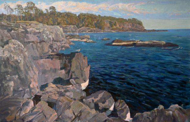 Ilya Andreevich Kozlov. Balaam. Rocky shore