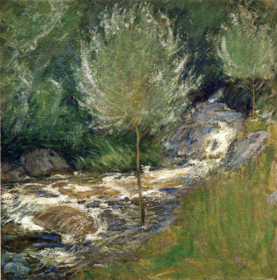 John Henry Twachtman. The Brook, Greenwich, Connecticut