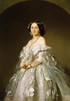 Иван Кузьмич Макаров. Женский портрет (С. Н. Россова ). Не позднее 1867