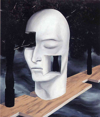 René Magritte. The face of genius