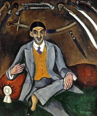 Petr Petrovich Konchalovsky. Portrait of the artist Georgy Yakulov