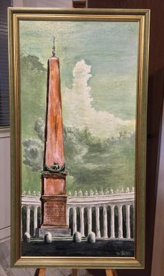 Konstantin Vizgalin. Obelisk, Vatican