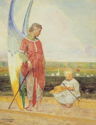 Jacek Malchevsky. Angel and a cowgirl